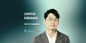 Junya Hirano CEO of Hashhub