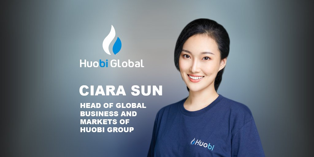 Ciara Sun Huobi Global