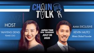 Xtheta global, chaintalk, kevin muto, founder, japan exchange, btc
