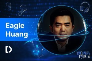 Eagle Huang, deepcoin, crypto asia summit, chaintalk