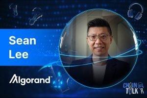 seanlee, Algorand Foundation, Algo, CEO, crypto asia summit, chaintalk