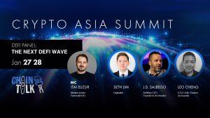 The next defi wave, crypto asia summit chaintalk cefi creamfinance mulan xrp seth lim anrkeyx gaming